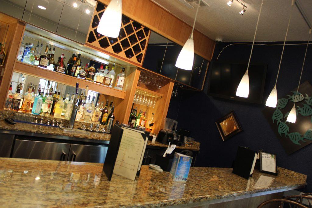 Detalhe do Saratoga Bar