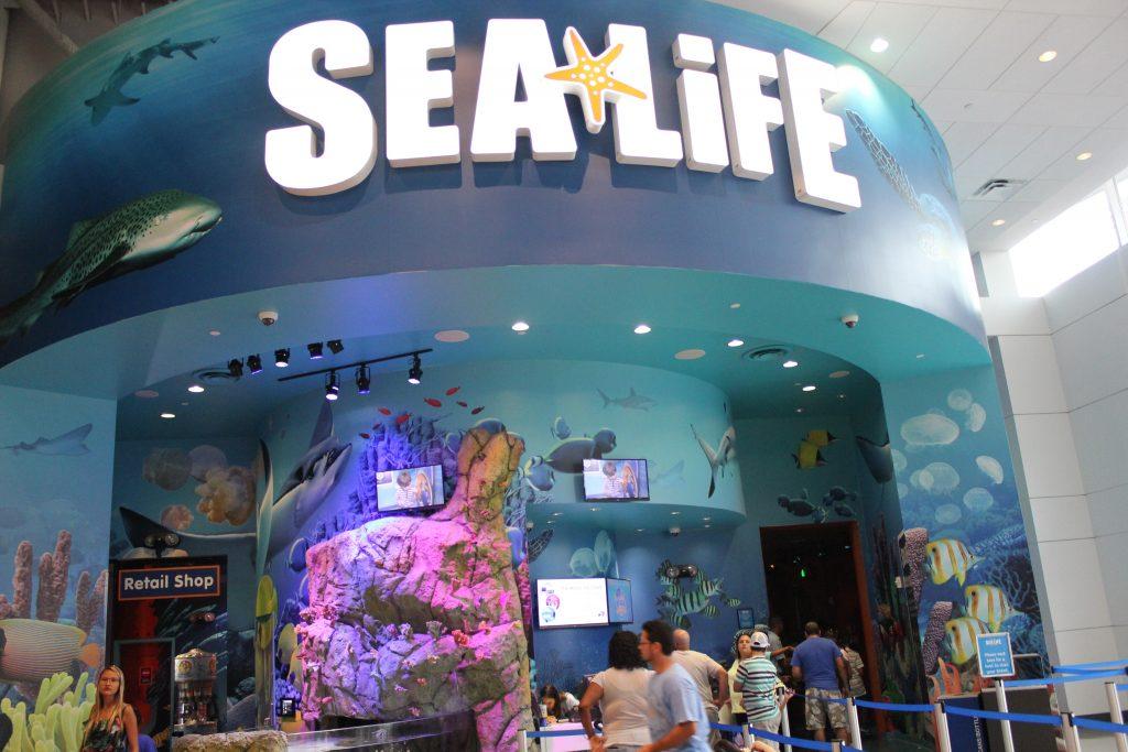 Entrada do Sea Life Aquarium