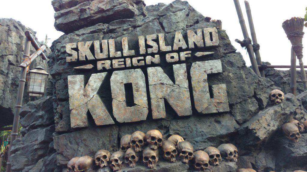 Entrada da Sklull Island: Reign of Kong