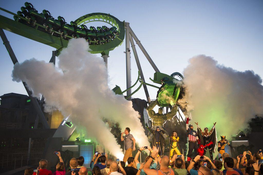 Vista da atração (foto Universal Orlando Resorts)