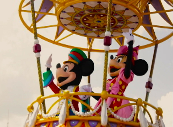 Os personagens clássicos da Disney: Mickey e Minnie