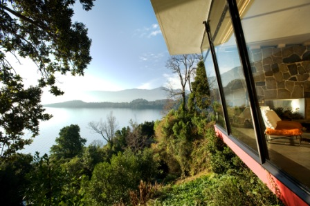 Vista do hotel Antumalal
