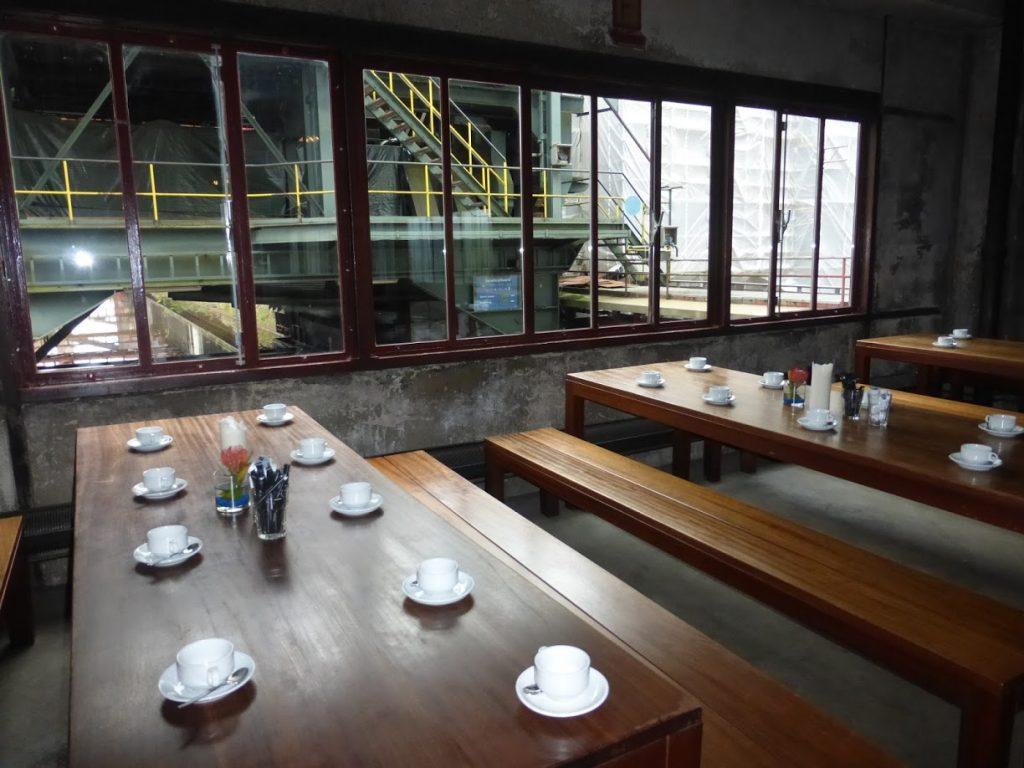 Um dos ambientes do Die Kokerei