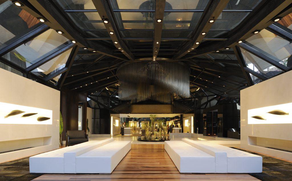 O lobby do cinco estrelas paulistano (foto divulgação/Tivoli Mofarrej – São Paulo)
