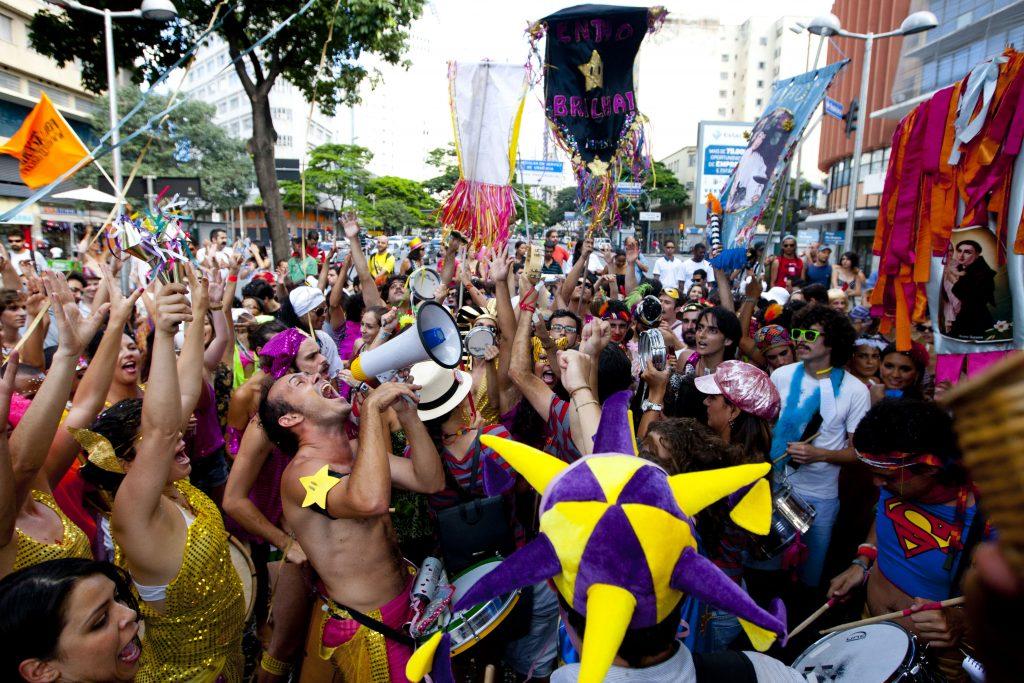 Bloco Vira o Santo, no Carnaval de BH