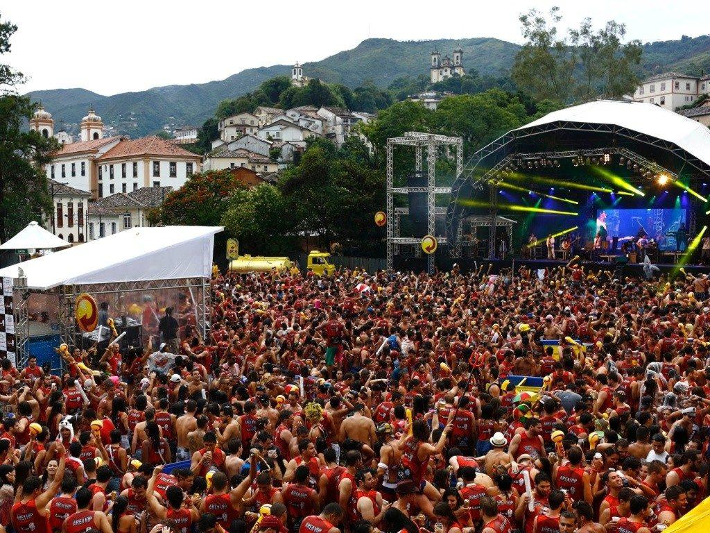 Carnaval de rua de Ouro Preto (MG)