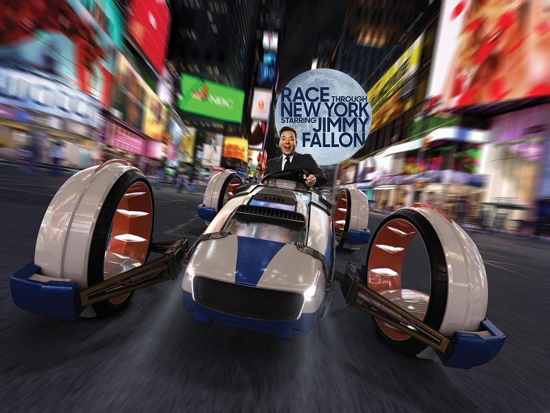 Jimmy Fallon no Universal Orlando Resorts (foto Divulgação)