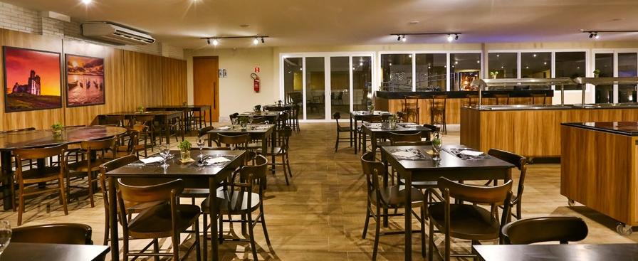 O restaurante do hotel (foto divulgação/Atlantica Hotels)