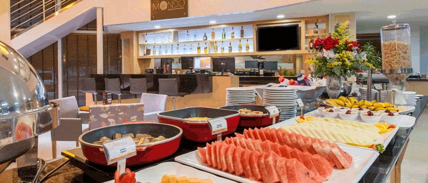 O restauante Restaurante Del Mondo (foto divulgação/Atlantica Hotels)
