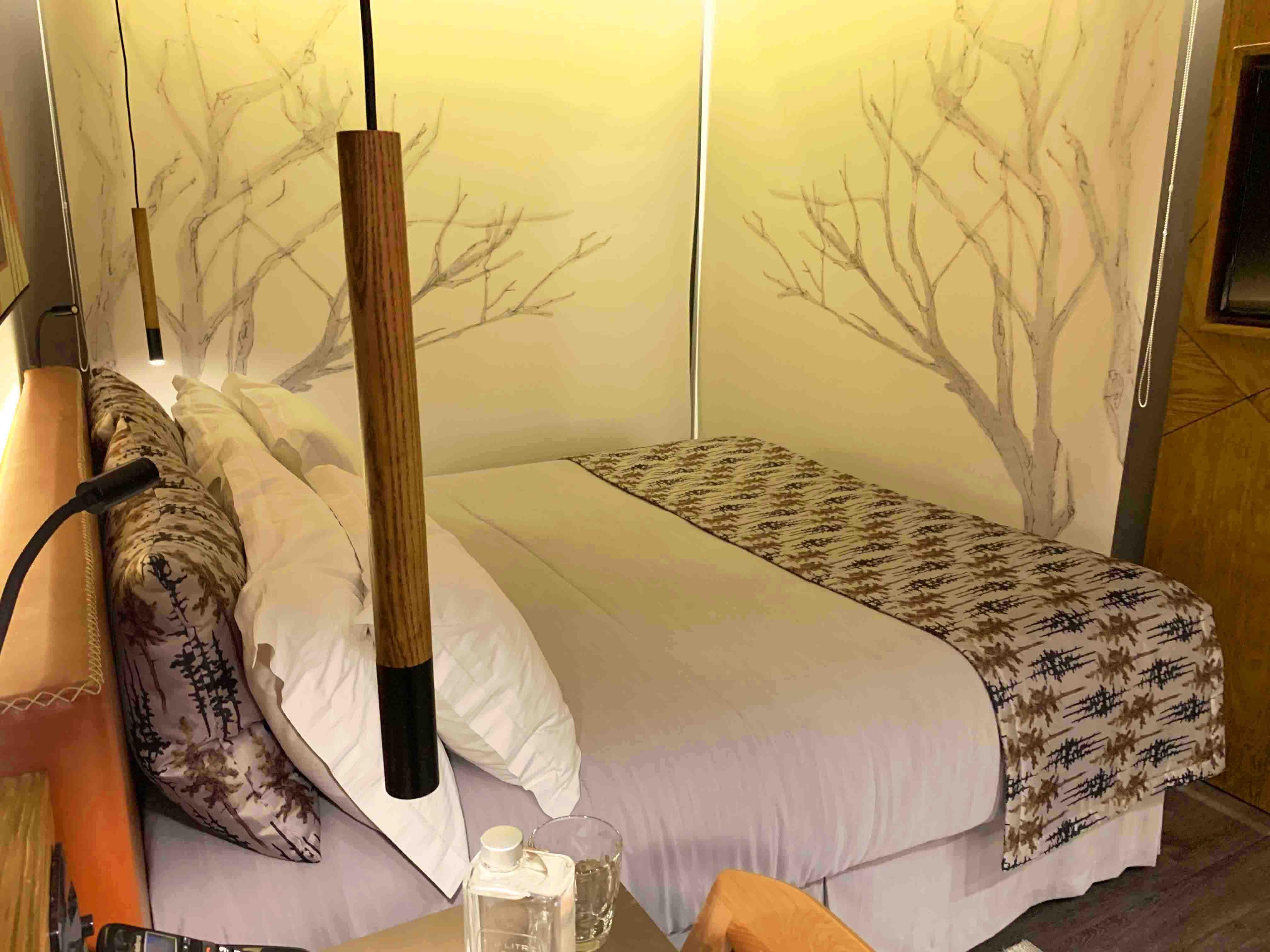Quartos do Wood Hotel